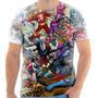 Camisa, Camiseta Historia Em Quadrinhos Marvel Vs Dc 04