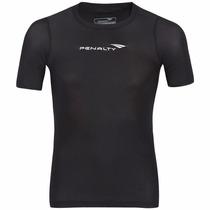 Camisa Térmica Compressão Penalty Manga Curta 301460 Preta