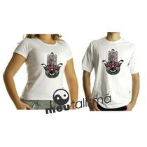 Camiseta,baby Look,regata Masculina, Feminina Hamsa-hand