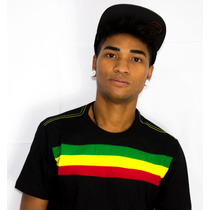 Camiseta Reggae Stripes