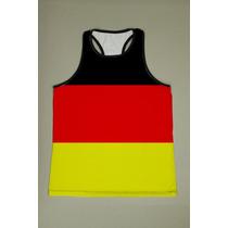 Camiseta Regata Nadador Masculina Alemanha