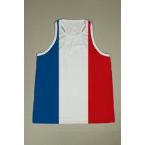 Camiseta Regata Nadador Masculina - França