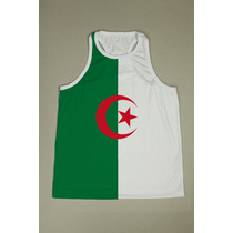 Camiseta Regata Nadador Masculina Argélia