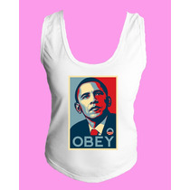 Camiseta Regata Nadador Obey 1984 Revolução Protesto Luta 5