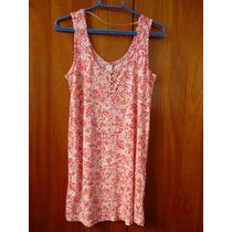 Camiseta/túnica Floral - P/m - Vila (asos)