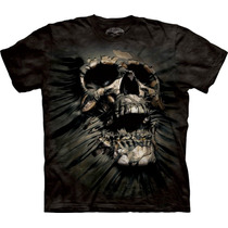 Camisa 3d Caveira Breakthough Tam Xxl, Xxxl The Mountain