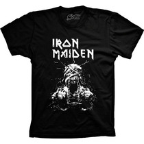 Camisetas Iron Maiden Bandas Heavy Metal Camisa Iron Maiden