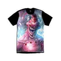 Dragon Ball Z Majin Boo Geek Camiseta Anime Personalizada