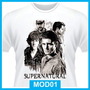 Camiseta Supernatural, Seriados, Winchester, Tv