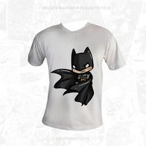 Camisa Batman - Dc Comics - Oficial - Cartoon Desenho Draw