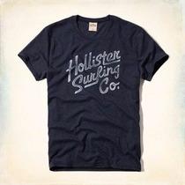 Camiseta Hollister Masculina Original Pronta Entrega
