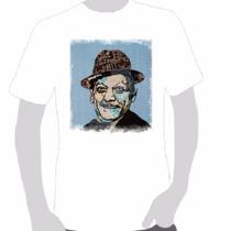 Camisetas Estampa Adoniran Barbosa 04- Escolha Em Perguntas
