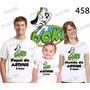 Lembrança De Aniversario Doki Camiseta Com 3