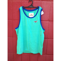 Camiseta Regata Hollister Masculina Original Importada P