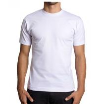 Camiseta Básica Lisa 30/1 Penteado 100% Algodão