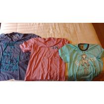 Kit Com 3 Camisetas Originais (sergio K; Ellus, E Cavaleira)