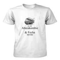 Camiseta Abre A Kombi E Fecha/ Abreakombie E Fecha