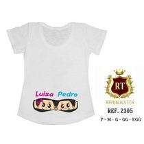 Camisetas De Gêmeos Gestantes Grávidas Personalizada Ofertas