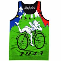 Regata - Camiseta - Bike Até A Lua Psicodélica - Alex Grey
