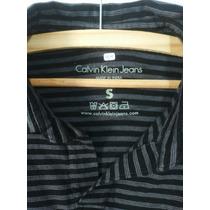 Camiseta Ck Calvin Klein Gola V Original