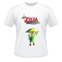 Camiseta The Legend Of Zelda Wind Waker Hd Wii U