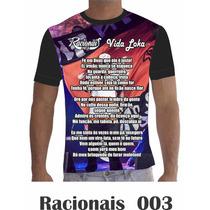 Camisa Camiseta Racionais Mcs Vida Loka 003