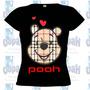 Camiseta Puff Personalizada Baby Look Promoção Frete Grátis
