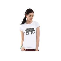 Camiseta Ecxas Elefante Branca - Sapatos Mania