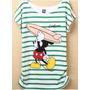 Camiseta Infantil Mickey Surfista Disney 100% Algodão 12 Ano