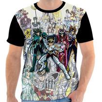 Camisa, Camiseta Cavaleiro Dos Zodiaco - Athena, Anime