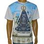 Camiseta Aparecida Céu Azul Religiosa Católica