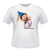 Camisetas Agnes Minions Meu Malvado Favotiro Algodão Cod 219