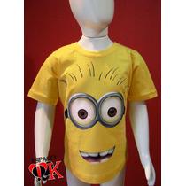 Camiseta Infantil Minion