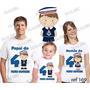 Lembrança De Aniversario Menino Marinheiro Camiseta Com 3
