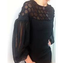Mini Vestido Inspired (36/38) - Pronta Entrega No Brasil