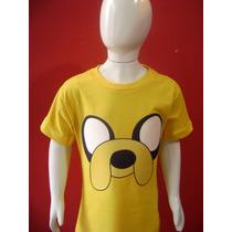 Camiseta Infantil Jake - Hora De Aventura