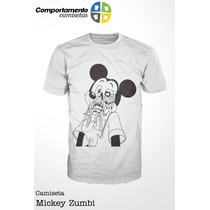 Camiseta Mickey Zumbi - Desenhos - Televisão