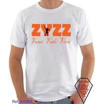 Camiseta Personalizada Zyzz Vini Vidi Vici Academia