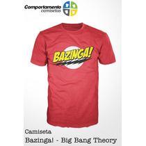 Camiseta Bazinga - The Big Bang Theory - Séries