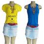 Kit 25 Blusas Femininas Bacci Collection Lindas Frete Grátis