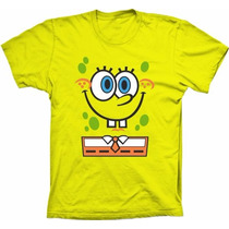 Camisa Personalizada De Algodão | Bob Esponja