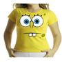 Camiseta Adulto Ou Infantil Bob Esponja Não Fui Eu...