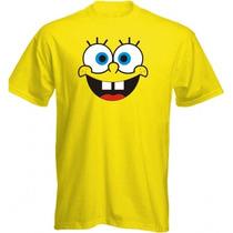 Camiseta Bob Esponja - Camisa Desenho,boneco