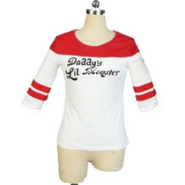 Camisa Harley Quinn Esquadrão Suicida (cosplay)