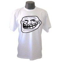 Camiseta Troll Face Trollface Memes Derp Engraçada Sátiras