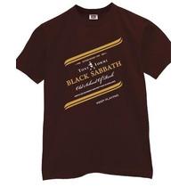Camisa Black Sabbath Tony Iommi Keep Playing - Camiseta Rock