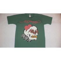 Camiseta Ed Hardy Importado 100% Original!