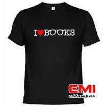 Camisetas Engraçadas Eu Amo Livros 1912