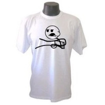 Camiseta Divertidas Cereal Guy Memes Trollface Engraçadas