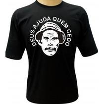 Camiseta Seu Madruga - Camisa Deus Ajuda